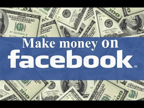 How to Make Money Online With Facebook - FREE Training!