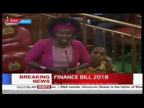Bill raised a storm in parliament