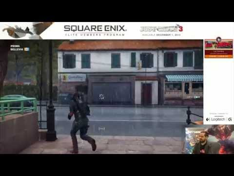 Just Cause 3 - Live from Square Enix!