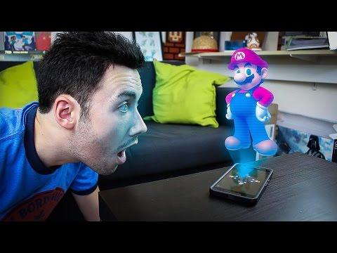 Créer un Hologramme avec son Smartphone !
