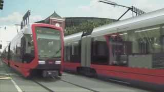 Light Rail for San Francisco by Siemens  - Unravel Travel TV(San Francisco's Municipal Transportation Agency (SFMTA) has awarded Siemens a contract to deliver an initial 175 light rail cars at a value of USD648 million., 2014-10-01T22:01:12.000Z)