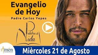 Evangelio de Hoy Miercoles 21de Agosto de 2019 l Padre Carlos Yepes