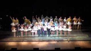 Billy Elliot Mitchell Tobin Final Finale and final show of the tour, Sao Paulo  Brazil
