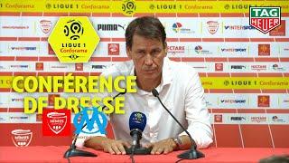 Conférence de presse Nîmes Olympique - Olympique de Marseille ( 3-1 )  / 2018-19