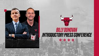 FULL PRESS CONFERENCE: Billy Donovan introduced as Head Coach | Chicago Bulls