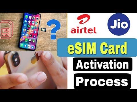 Airtel, Jio ESIM Card Activation Process | ESIM Activation Process | Iphone XMAX,XS,SR ESIM Card