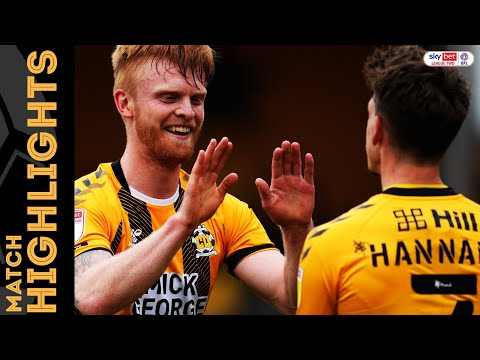 Cambridge Utd Grimsby Goals And Highlights