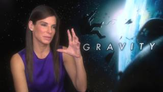 Sandra Bullock talks about her role in Gravity Thumbnail