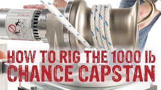 How To Rig Chance Capstan Hoist To Swivel Mount - GME Supply