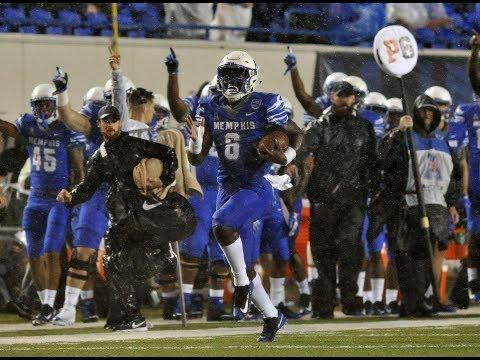 Football Highlights - Memphis 37, Louisiana Monroe 29