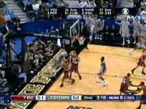 Georgetown vs. Boston College, 2007 NCAA tournament