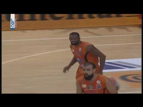 Lebanese Basketball League 2017/2018 - Final 4 Homenetmen v Sagesse Sam Young Slam Dunk