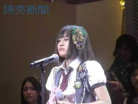 AKB48涙の投開票 1位は前田敦子