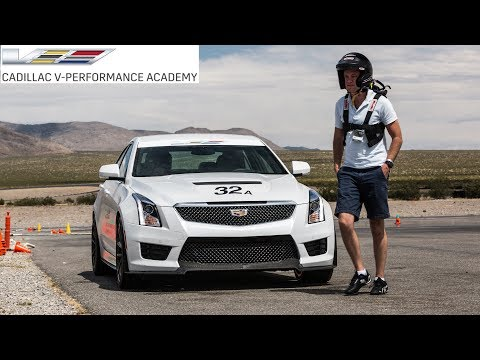 Becoming a Better Driver at the Cadillac V Performance Academy