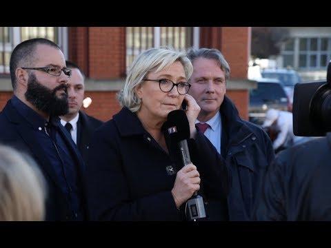 Marine Le Pen à Calais : « Expulser, c'est protéger les Français ! »