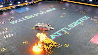 Bronco vs. Stinger - BattleBots