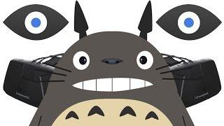 NEW Oculus Rift 2! Head-Tracking + 1080p, Playing My Neighbor Totoro!
