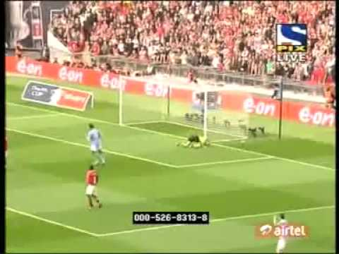 (HD) Manchester United Vs. Manchester City -  0:1 -(FA Cup)-2011-04-16