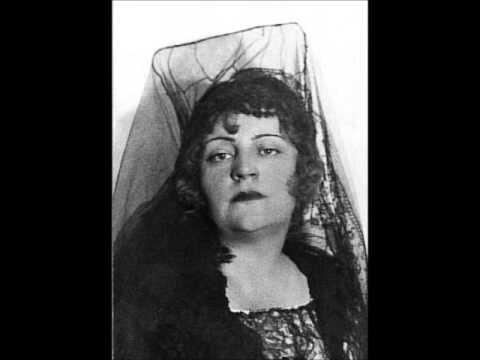 "Maria Nemeth, dramatic coloratura, ""Martern aller arten"" Entführung aus dem Serail 1929."