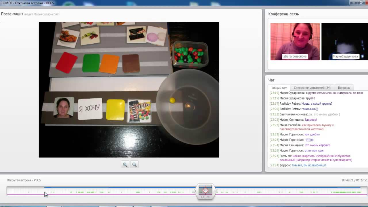 How to Use PECS Communication Cards System of Autism - YouTube