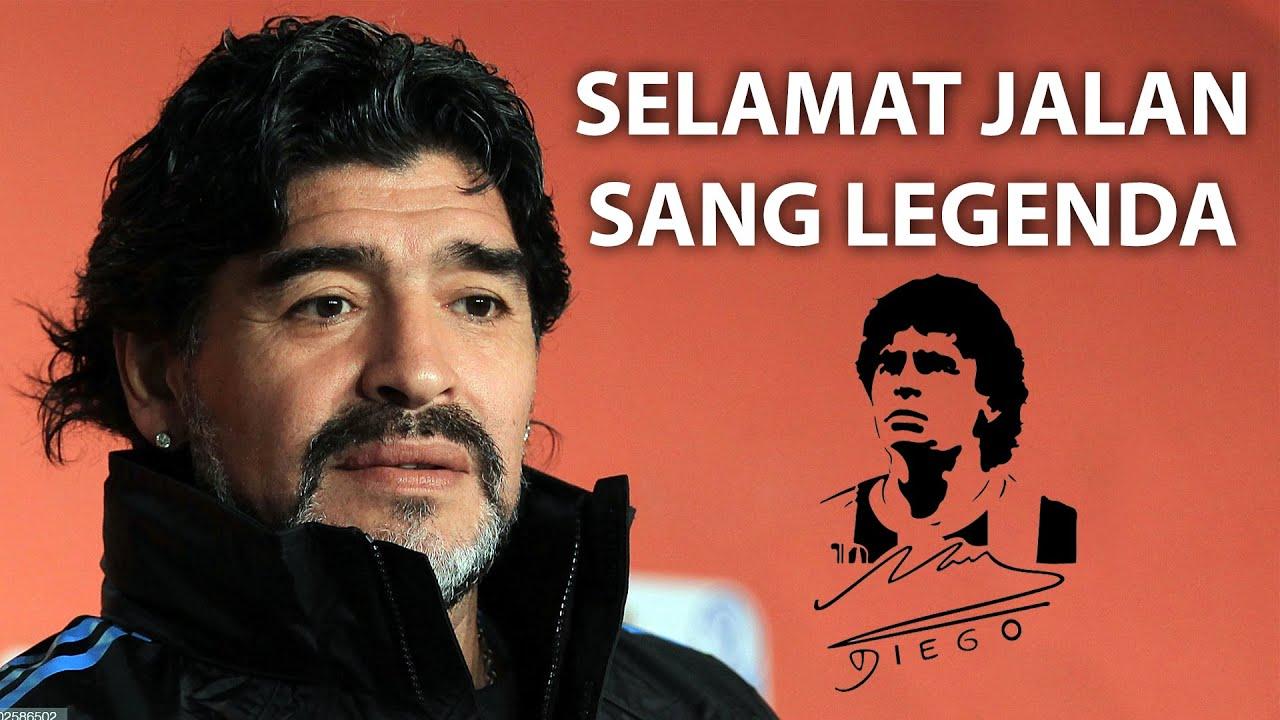 SELAMAT JALAN MARADONA SANG LEGENDA!