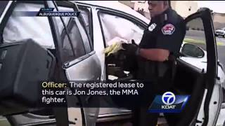 Condoms, pipe found in vehicle registered to fighter