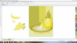 Corel Draw для начинающих # Урок 5 - Натюрморт в CorelDraw
