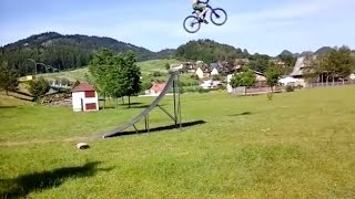 FAIL: Guy Jumps Huge Ramp With No Landing