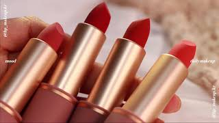 뮤드 립스틱 전컬러 발색샷 mude lipstick f…