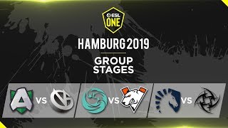 TNC Predator VS Gambit Esports (BO2) - ESL One Hamburg 2019 - Group Stage