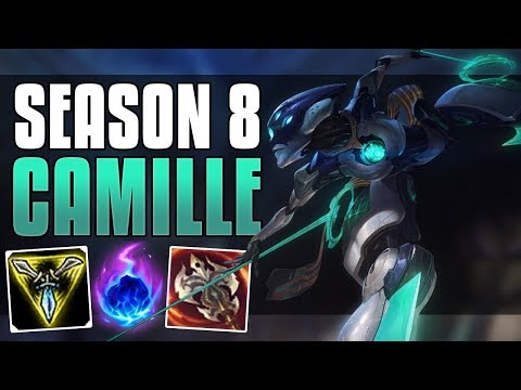 ARCANE COMET CAMILLE IS OP! - SEASON 8 CAMILLE GUIDE - LEAGUE OF LEGENDS