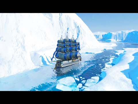 ANNO 1800 Frozen Passage | Ep. 01 | Anno 1800 City Building & Survival Tycoon Gameplay DLC
