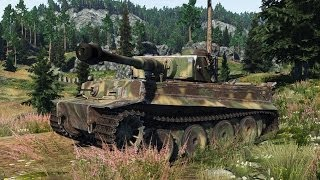 ◀War Thunder: Ground Forces - Tiger Claw