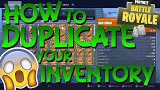 (*New Working*) HOW TO DUPLICATE GUNS IN FORTNITE