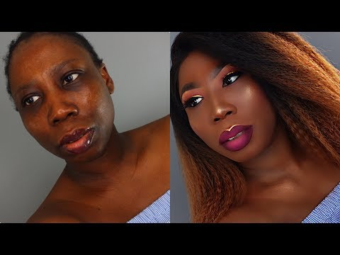 WATCH ME TRANSFORM  HOUSEGIRL TO HOUSEWIFE - How To Slay A Lace Front Wig (Sleek Hair UK)