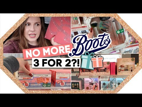 Shop With Me - BOOTS GIFT GUIDE - 3 FOR 2!?