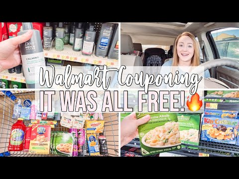 I GOT A BUNCH OF FREE STUFF AT WALMART! 🔥 COME COUPON WITH ME! + 2 EASY FREEBIES! 😍