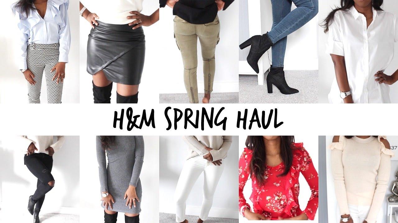 huge h m online shopping try on haul spring officewear. Black Bedroom Furniture Sets. Home Design Ideas