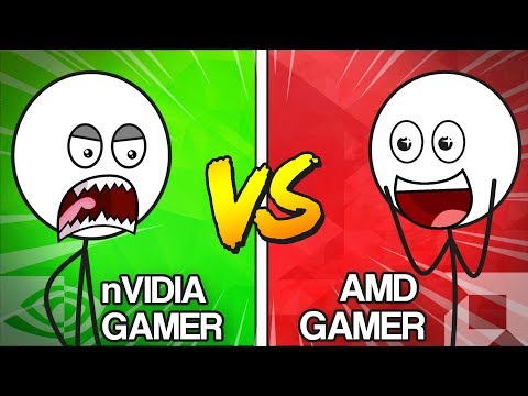 NVIDIA Gamers VS AMD Gamers