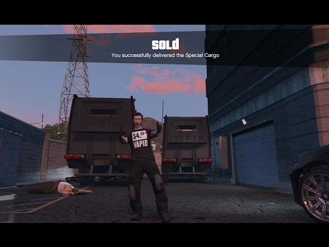 Ep101 Selling Full Warehouse Solo Win! CEO Special Cargo Sell! - Let's Play GTA 5 Online PC 1080p HD
