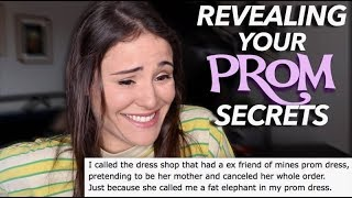 REVEALING YOUR PROM SECRETS | AYYDUBS