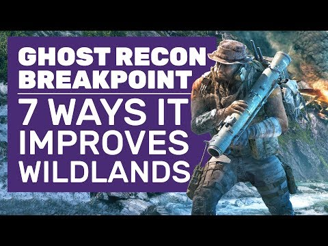 7 Reasons Ghost Recon Breakpoint Is The Game Wildlands Should Have Been | Breakpoint Gameplay