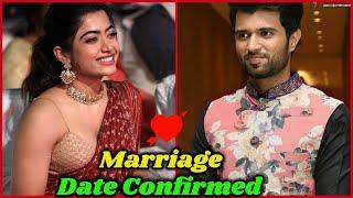 Vijay Devarakonda & Rashmika Mandanna Are Preparing For Marriage ?