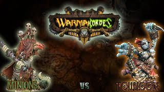 Warmachine & Hordes - Minions (Barnabas) vs. Trollbloods (Calandra) - 50pt Battle Report