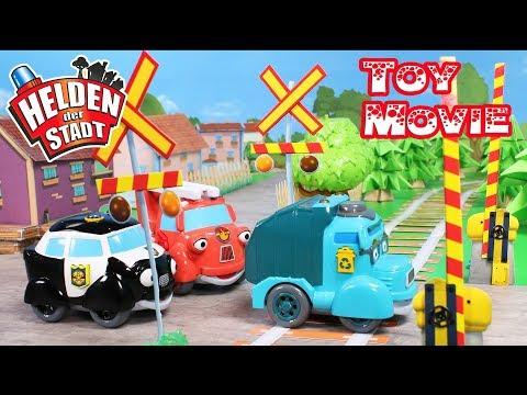 Helden der Stadt – Toy Movie - Episode 3 – Gefahr bei den Gleisen
