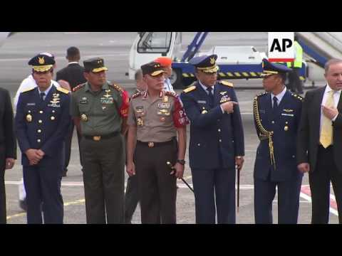 Saudi King Salman arrives in Indonesia