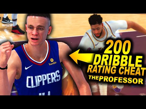 THE PROFESSOR With A GAME BREAKING DRIBBLE Rating Cheat.. Ankle Breaker INJURY On NEW Lakers!