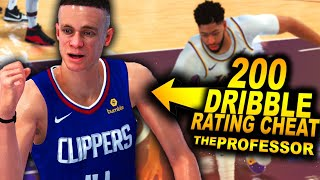 THE PROFESSOR With a GAME BREAKING DRIBBLE Rating Cheat.. Ankle Breaker INJURY On NEW Lakers! Video