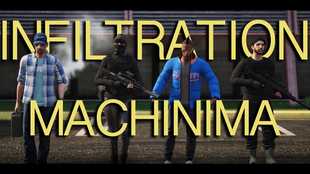 Infiltration Episode 3 - GTA 5 (Court Métrage/Machinima) - Instagrame : caillasse06