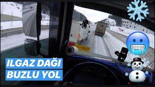 ILGAZ DAĞI BUZLU YOL / ÇORUM - KASTAMONU SEFERİ !